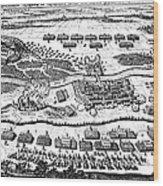 Battle Of Steinau, 1633 Wood Print
