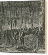 Battle Of The Wilderness, 1864 Wood Print