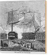 Battle Of Trafalgar, 1805 Wood Print