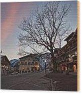 Bavarian Christmas Wood Print