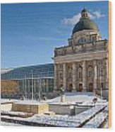 Bavarian State Chancellery Wood Print