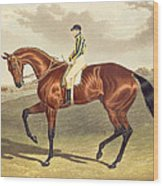 Bay Middleton Winner Of The Derby In 1836 Wood Print