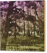 Bayou Twilight Wood Print