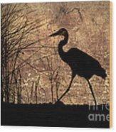 Bayou Walk Wood Print