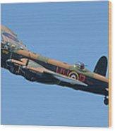 Bbmf Lancaster Bomber 2 Wood Print by Ken Brannen