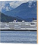 B.c. Ferries Wood Print