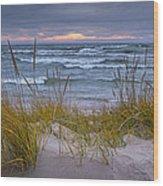 Beach By Holland Michigan No 0192 Wood Print