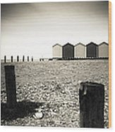 Beach Days Wood Print
