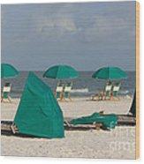 Beach Furniture II Wood Print