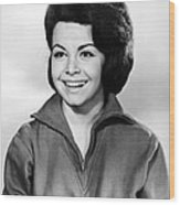 Beach Party, Annette Funicello, 1963 Wood Print