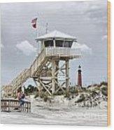 Beach Patrol Wood Print