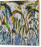 Beachball 07 Wood Print