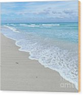 Beachtime Wood Print