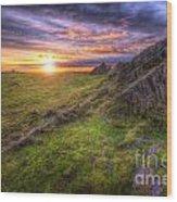 Beacon Hill Sunrise 11.0 Wood Print