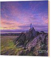 Beacon Hill Sunrise 2.0  Wood Print