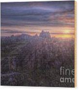 Beacon Hill Sunrise 4.0 Wood Print