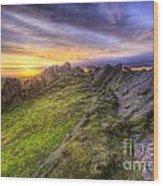 Beacon Hill Sunrise 5.0 Wood Print