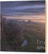Beacon Hill Sunrise 6.0 Wood Print