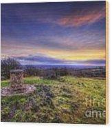 Beacon Hill Sunrise 8.0 Wood Print