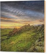 Beacon Hill Sunrise 9.0 Wood Print