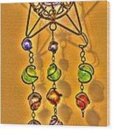 Beads Wood Print