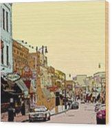 Beale Street Wood Print
