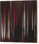 Beams Wood Print