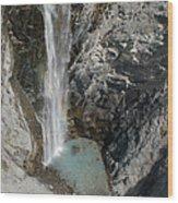 Bear Creek Falls Wood Print