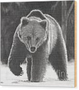 Bear Necessities Wood Print