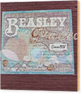 Beasley Produce Since 1931 Wood Print