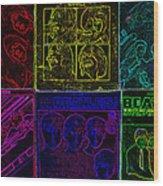 Beatles Albums 2 Wood Print