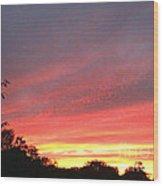 Beauitful Sunset Wood Print
