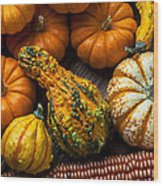 Beautiful Autumn Wood Print
