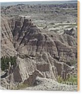 Beautiful Badlands Wood Print