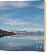 Beautiful Lake Tahoe Wood Print
