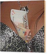 Beautiful Money Box Wood Print