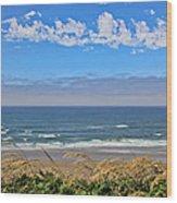Sunshine Beach Wood Print