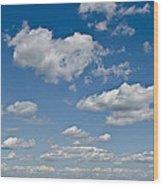 Beautiful Skies Wood Print