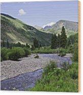 Beautiful Vail - Colorado Wood Print