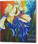 Beauty Of Blossom Wood Print by Uma Devi
