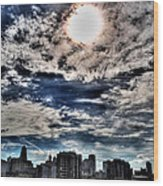 Beauty Of The Morning Sky Wood Print