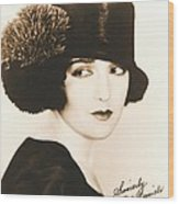 Bebe Daniels 1925 Wood Print