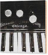 Beckwith Organ 2 Wood Print