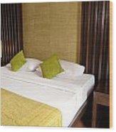 Bed Room Wood Print