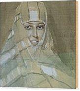 Bedouin Girl Wood Print