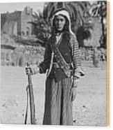 Bedouin Youth, C1926 Wood Print by Granger