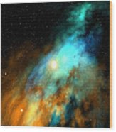 Beducas Nebula Wood Print
