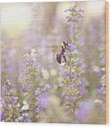 Bee Beeutiful Wood Print