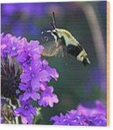 Bee Fur-eal Wood Print
