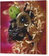 Bee Life 2 Wood Print